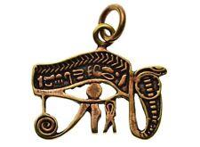 Of Horus Snake Pendant Bronze Eye