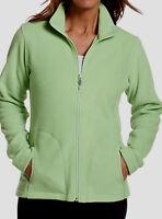 Women's Woolrich Andes Fleece Jacket NWT Trailhead Fleece $46 Green Size Small S