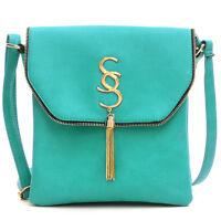 Women Handbag Faux Leather Crossbody Messenger Shoulder Bag Girls Purses