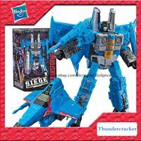 "New Transformers Hasbro Thundercracker G1 Voyager Class Action Figure 7"" Toys"