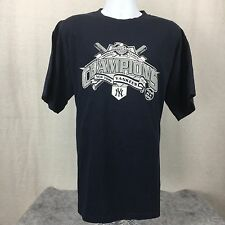 (XL) MLB New York Yankees Shirt NY American League Champions 2001 - EXCELLENT!