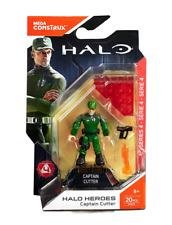 Mega Construx - HALO Heroes Series 4 - CAPTAIN GUNNER - NEW