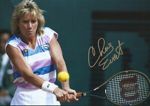 Chris Evert Autographed signed photo
