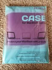 """Kuzy - AIR 13-inch Light Purple Rubberized Hard Case for MacBook Air 13.3"""""""