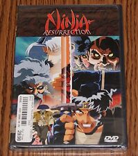 Ninja Resurrection - Revenge of Jubei/Hells Spawn (DVD,1999) ADV Films BRAND NEW