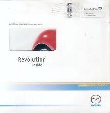 MAZDA rx-8 rivoluzione inside prospetto brochure 2003 AUTO AUTOMOBILI AUTO prospetto Giappone