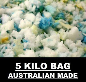 Shredded Foam - Crumbed Foam (for bean bags) - 5 Kilo Bag