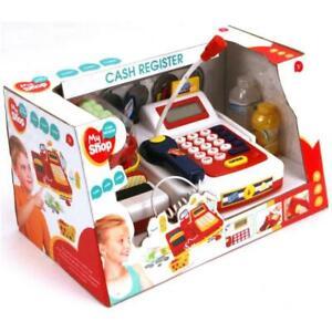 My Shop Kinder Registrierkasse Kasse mit Funktion und Zubehör für Kaufladen