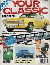 Classic Cars Ford Capri Ginetta G15 Rover P6 Alfa Guilietta Lancia Beta  X3.223