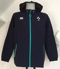 IRELAND RUGBY PEACOAT SHOWERPROOF JACKET BY CANTERBURY SIZE ADULTS SMALL NEW