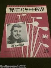 Partitura Original-Rickshaw-Joe Henderson