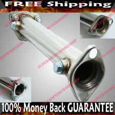 SS Cat/Test Pipe for Honda Civic 88-00 Del Sol 93-97 D15 D16 D Series SOHC ONLY