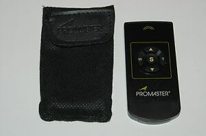 PROMASTER INFRARED REMOTE CONTROL FOR OLYMPUS CAMERAS
