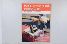 Motor Revue Europa Motor Ausgabe 34 Sommerausgabe 1960