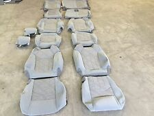 FACTORY TITANIUM OEM CLOTH SEAT COVER COVERS BUICK ENCLAVE 2015 2016 BUCKETS MID