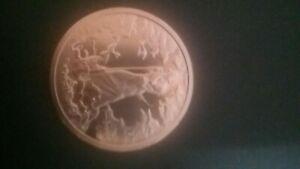 2oz Copper Round - Frazetta - Death Dealer