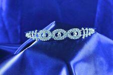HEAD BAND Austrian Crystal Rhinestone Wedding, Prom, Pageant, Quinceañera S4851