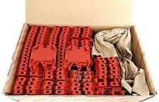 BOX OF 70 NEW WEIDMULLER 9129920000 SAK 4/EN RT, 600V 36A AWG 26 TO 10