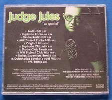 Judge Jules So Special CD Promo 11 Mixes Marcella Woods Michael Woods DJ Strobe