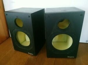 Rogers LS2a/2 Speaker Cabinets Empty Enclosures For Parts Or Project