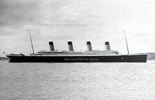 """Poster Print: 13"""" 19"""" Titanic's Final Port Of Call: Queenstown, April 11th, 1912"""