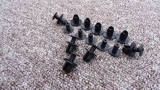 VW BLACK TRIM PANEL FIXING CLIPS 10PCS