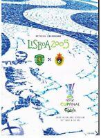 Sporting Lisbon v CSKA Moscow UEFA Cup Final 2005