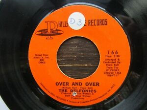 THE DELFONICS Hey Love-Over And Over US Philly Groove 166 1971