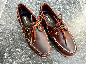 Bootsschuhe Original Timberland »Classic Boat 2 Eye« Bootsschuh neu
