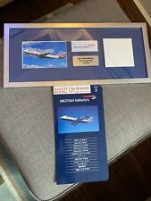 British Airways Boeing 747 Gcivg Souvenir Memorabilia Aircraft Skin Parts & Card