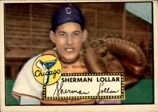John Sherman Lollar 1952 Topps #117 White Sox Ex+ 61135