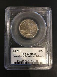 2009-P PCGS MS66 Northern Mariana Islands 25C US Territories Quarter! No Reserve