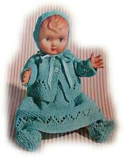 "Vintage Rosebud 10"" Baby Doll Trousseau  (8 piece)"