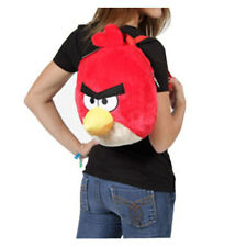 Angry Birds RED BIRD Big Head Plush Backpack Bag NEW