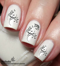 Persian Irani Farsi Calligraphy Khoshnevisi Nail Sticker Water Transfer 30