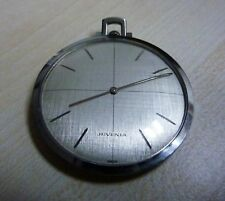 +++ JUVENIA frackuhr orologio da tasca in acciaio inox Kal. 604 circa 1950/60er anni +++
