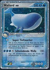 > Carte Pokémon Wailord ex 100/100 - Ex Tempête de sable-Presque comme neuf