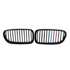 Gloss Black M5 Look Front Grille Grill For BMW F10/F11 11-16 528i