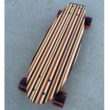 "Mini Cruiser Skateboard - Coogee ""Mini Croozer"" - made from many different woods"