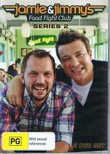 JAMIE OLIVER & JIMMY'S Food Fight Club Series 2 Two (2 x DVD Set) NEW & SEALED