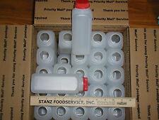 25-16 0z.HDPE FOOD GRADE PLASTIC MILK JUGS /JUICE BOTTLES WITH TAMPER PROOF CAPS
