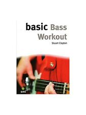 Basic Bass Workout Learn to Play Christmas Present Gift MUSIC BOOK Bass Guitar