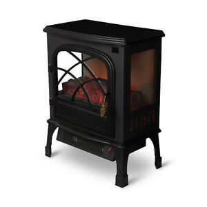 Limina LIM-19-100005 Electric 1500W Stove Fireplace Infrared Quartz Space Heater