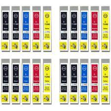 20 Ink Cartridges for Epson Stylus D92 DX6000 DX9400F SX110 SX400 SX610FW