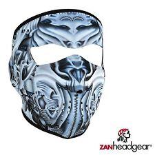 Zan Headgear Neoprene Full Face Mask Biomechanical Facemask Cover Cold Gear Ride