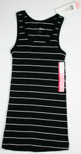 Liz Lange Maternity Black & White Striped Tank Top Small Sleeve Less Pregnancy