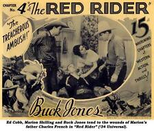 The Red Rider - Classic Cliffhanger Serial Movie DVD Buck Jones
