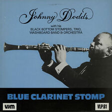 "Johnny Dodds Blue Clarinet Stomp 1927-29 UK 1987 mono VJM vinyl 12""33rpm LP (nm)"