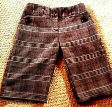 Girls plaid Bottoms Pants Size 7 Looks Great With Boots