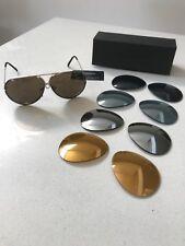 Porsche Sunglasses w/ 4 colored lenses